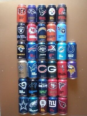 2019 BUD LIGHT NFL Kickoff 2011,12,2013,14, 2015 2016 2017 2018 Beer Cans CHOICE
