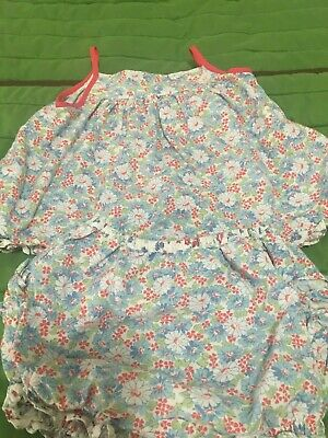 Ralph Lauren Baby Girls 2 pc Floral outfit w/bloomers  6 mos
