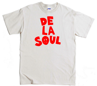 de la soul music rap hip hop tribe quest gangstarr krs dmc beastie S-5XL T SHIRT
