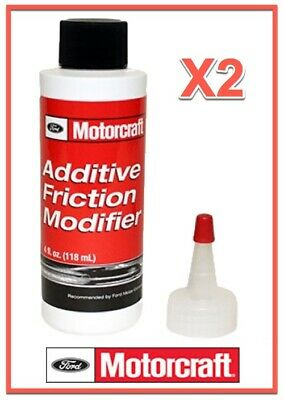 2X 4 Oz. OEM FORD/Motorcraft Gear/Differential Additive Friction Modifier XL3