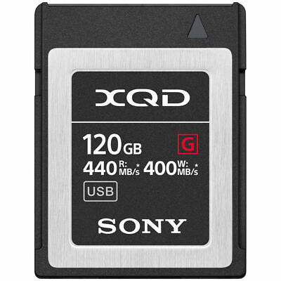 Sony Professional XQD G-Series 120GB Memory Card (QD-G120F)