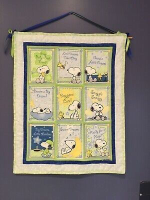 Baby Snoopy Wallhanging - Handmade!