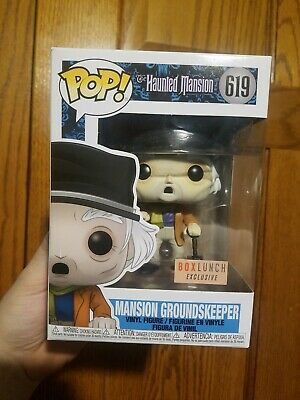 Funko Pop! Haunted Mansion Mansion Groundskeeper Box Lunch Exclusive