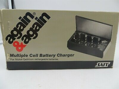 Ni-Cad Battery Charger For AA, C, D, & 9V Batteries