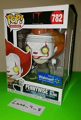 Funko POP! Pennywise with Blade Walmart Exclusive IT Chapter 2 #782 MIB