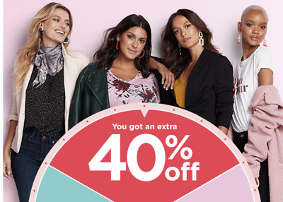 Kohl's 40% off code, in store or online  exp. 9/22