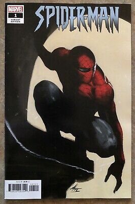 Spider-Man 1 Gabriele Dell'otto 1:50 Incentive Variant J J Abrams Nm+ Hot Marvel