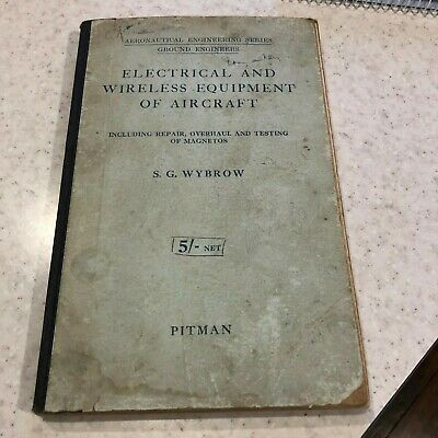 Vintage Electrical & Wireless Equipment Of Aircraft Booket