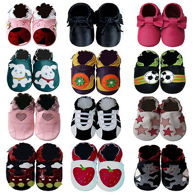Cozy Boutique Newborn Infant Toddler Kids Soft Sole Leather Baby Shoes 0-5 yrs