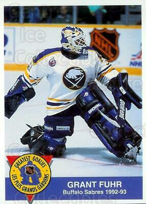 1993-94 High Liner Greatest Goalies #3 Grant Fuhr