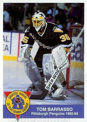 1993-94 High Liner Greatest Goalies #6 Tom Barrasso