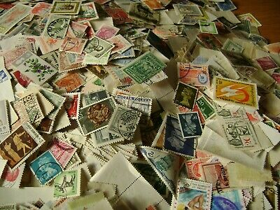 250 World Wide Stamps Early/Modern Off Paper Mixed Selection Many countries