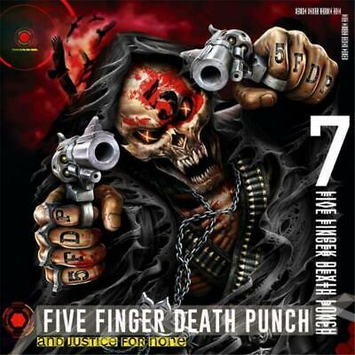 Five Finger Death Punch And Justice For None Deluxe Edition Digipak CD NEW
