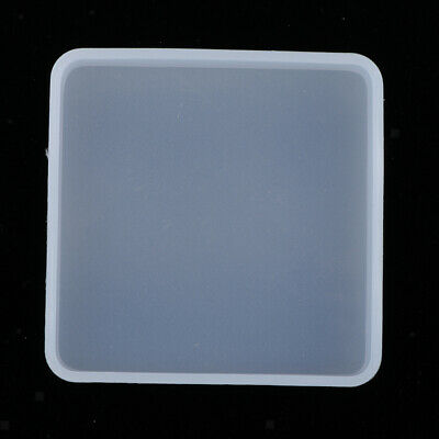 Silicone Round Molds for DIY Craft Coasters Jewelry Making Mould Tools H6E3