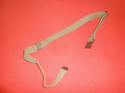 U.S.ARMY : : M-1 SLING GREEN CANVAS  used .