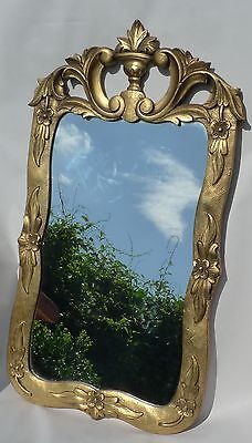 Magnificent Mirror Baroque Rococo Wall Mirror Wood Carved um 1800 Italy?