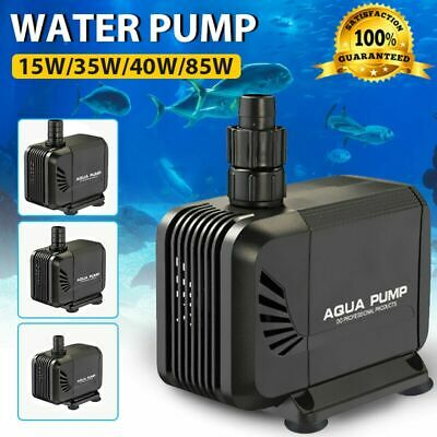 Water Pump Submersible Electric Quiet Aquarium Fountain Pond Fish Tank 240V AU