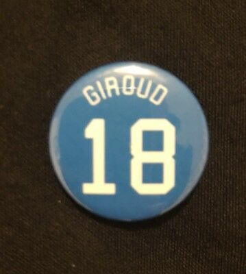 """Frank Lampard Chelsea Tribute Badge 25mm 1/"""" Pin Button Badge Football"""