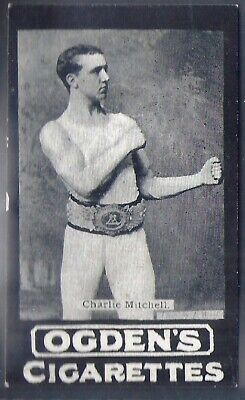 Ogdens Tabs-Series A-#A087- Boxing - Charlie Mitchell