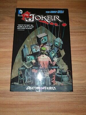 Joker Death Of The Family  graphic novel + two free catwoman comics  batman DC