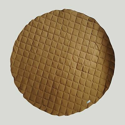Baby Cotton Quilted Playmat/Activity Mat/Kid's Floor Rug/Susukoshi/Brass/NEW