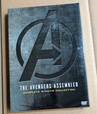 AVENGERS 1-4 [DVD ASSEMBLED] The 1 2 3 4 Movie Marvel Lot Collection Endgame