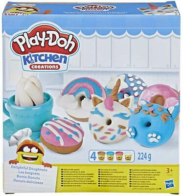 Play-Doh Kitchen Creations Delightful Doughnuts Set Playset