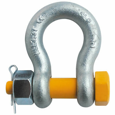 "1/2"" Grade 80 Screw Pin Safety Anchor Shackle All Alloy Galvanized"