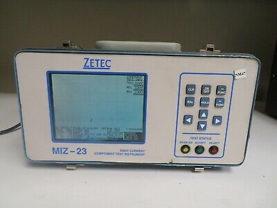 ZETEC - mdl. MIZ-23 - Eddy Current Component Testing Machine - no covers - NM47