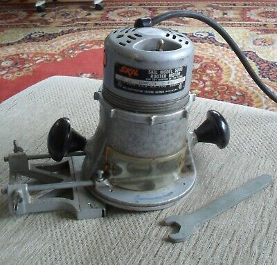 """Vintage Skill Router - 1/4 """" Shaft + Guide"""