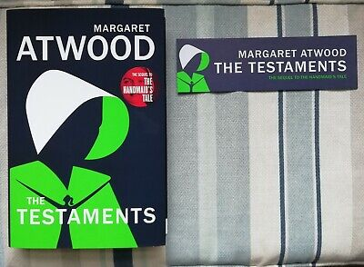Margaret Atwood The Testaments 1/1 Uk Hb/Dj 2019 Brand New With Bookmark