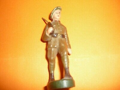 Chasseurs Ardennais-Ancienne Figurine-Ideal Vitrine-Fabrication Belge -