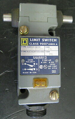 Square D C54H Y1905 Limit Switch Series A
