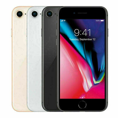 Apple iPhone 8 64GB-256GB GSM Unlocked A1905 – Pristine Screen! AT&T T-Mobile