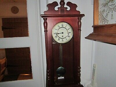 Vintage Franz Hermle Westminster Wall Clock In V.g.w.o.