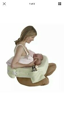 New Twins Plus Deluxe Nursing Pillow Soft Plush Cover Baby Infant Breast Feeding