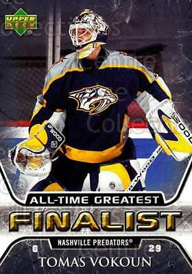 2005-06 Upper Deck All-Time Greatest #34 Tomas Vokoun