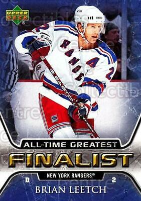 2005-06 Upper Deck All-Time Greatest #40 Brian Leetch
