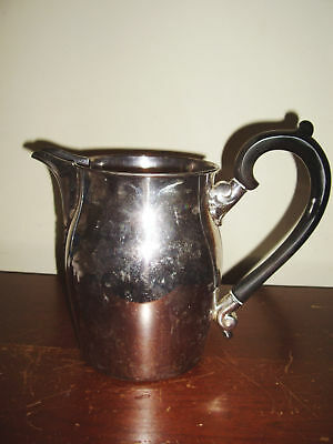MIDCENTURY SILVER PLATED PITCHER by LUNT