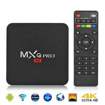 1+8GB pro MXQ WIFI Quad Media 4K TV Box S905W For Android 7.1 Player Smart 2019