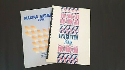 Bk217 Brother Knitting Machine Books Kh965 Instruction Manual & Making Garments