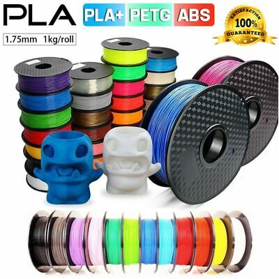 3D Printer Printing Filament 1Kg 1.75mm PLA/PLA+/ABS/PETG Accuracy +/- 0.02mm AU