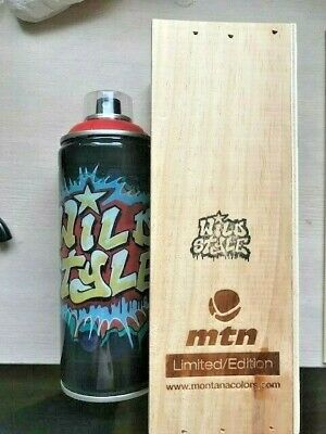 Wildstyle Montana limited edition can