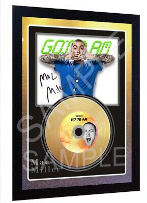 Faces SIGNED FRAMED PHOTO PRINT AND Mini LP Perfect Gift Mac Miller