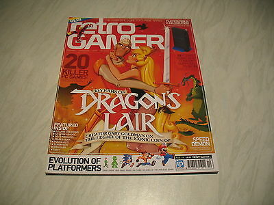 Retro Gamer magazine # 114 issue 114 vintage retro Dragons Lair Punch-Out