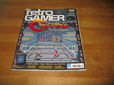 Retro Gamer magazine # 35 issue 35 vintage retro Contra Wipeout King of Fighters