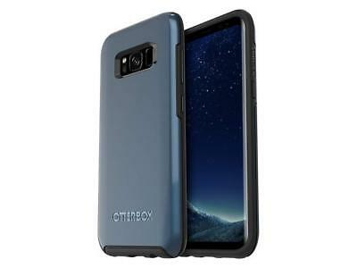 OtterBox Symmetry Samsung Galaxy S8 Hard Shell Snap Cover Case - Blue/Black