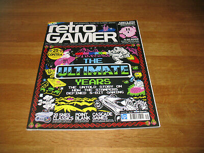 Retro Gamer magazine # 109 issue 109 vintage retro The Ultimate Years cover