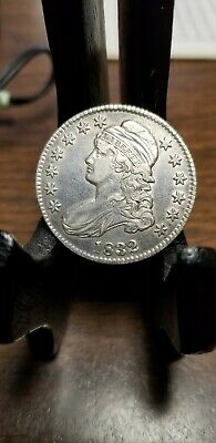1832 Capped Bust Silver Half Dollar High Grade Luster Look!