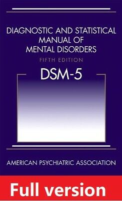 DSM-5 Diagnostic and Statistical Manual of Mental Disorders 5th ed PDFebook ✅